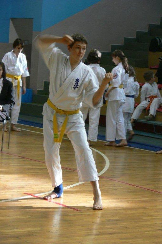 Zdjęcia z: Mistrzostwa Polski Kata Kyokushin Tezuka 12.03.2011r.