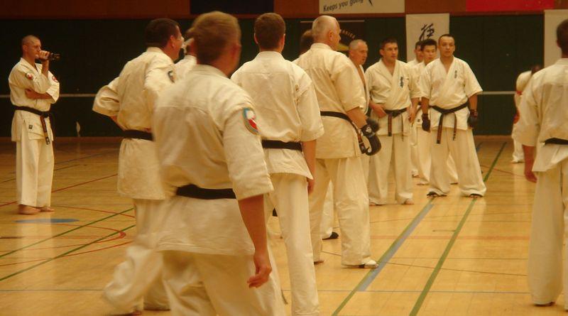 Zdjęcia z: Międzynarodowy Obóz Kyokushin Tezuka Group-Belgia-lipiec 2010