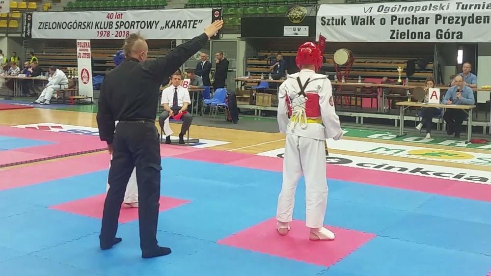 Zdjęcia z: VI Ogólnopolski Turniej Sztuk Walki o Puchar Prezydenta Miasta Zielona Góra 14.04.2018r.