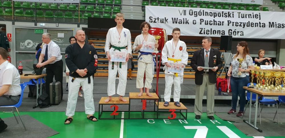 Zdjęcia z: VII Ogólnopolski Turniej Sztuk Walki o Puchar Prezydenta Miasta Zielona Góra