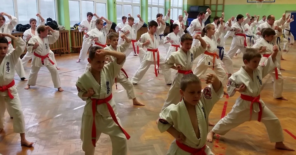 Zdjęcia z: Egzamin Karate Kyokushin 9.XII.2017