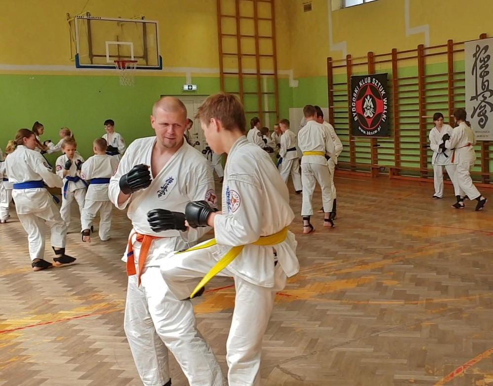 Zdjęcia z: Egzamin Kyokushin 18.05.2019r.