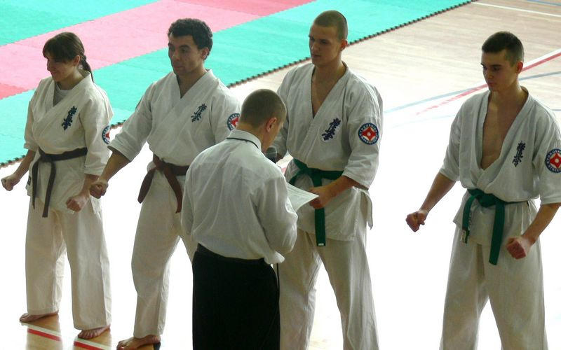 Zdjęcia z: Mistrzostwa Polski Kata IKO Kyokushin Tezuka Group - listopad 2008