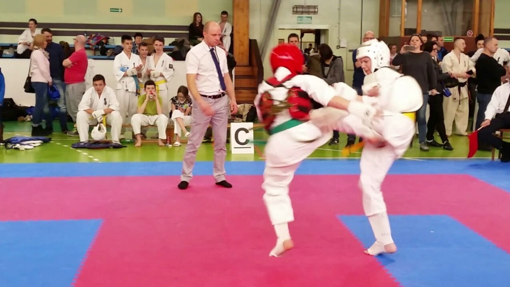 Zdjęcia z: Mistrzostwa Makroregionu Zachodniego Karate Kyokushin w Gdańsku.
