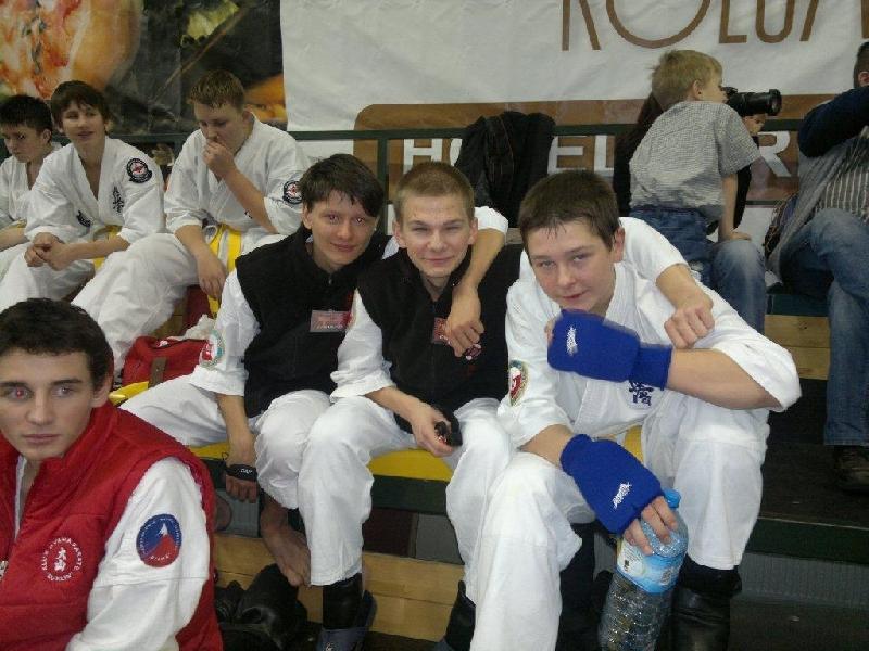 Zdjęcia z: Puchar Polski Polskiej Federacji Karate Łask 2010
