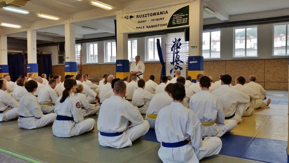 Zdjęcia z: Seminarium Kyokushin Gdynia 21-22.01.2017