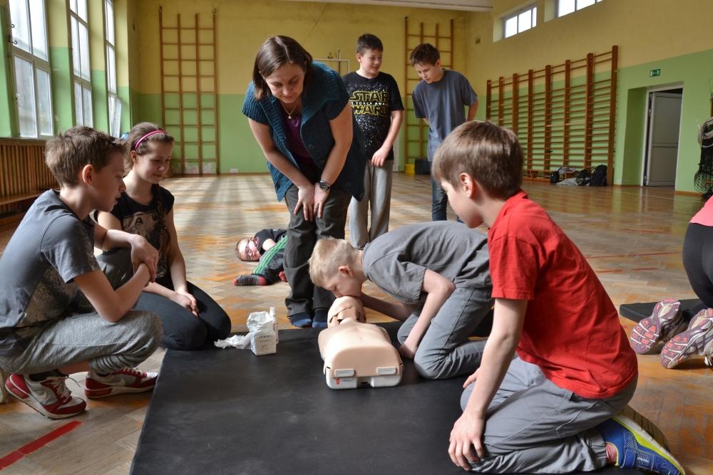 Zdjęcia z: 25.03.2017 Szkolenie pierwszej pomocy przedmedycznej