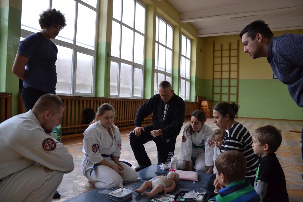 Zdjęcia z: Szkolenie pierwszej pomocy przedmedycznej w BKSzW