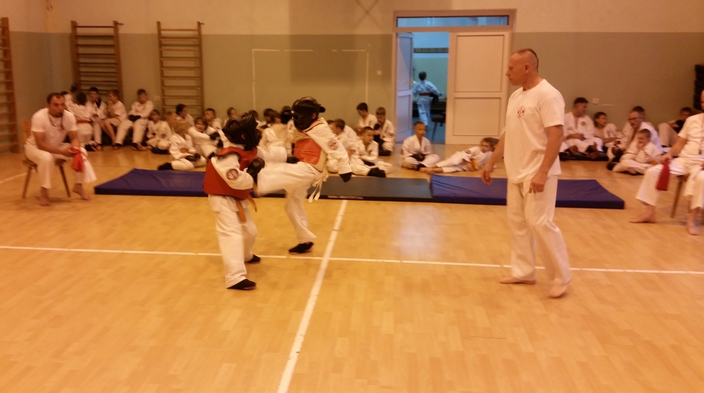 Zdjęcia z: Turniej BKSzW Kyokushin Kumite oraz Najsilniejszego Obozowicza BKSzW