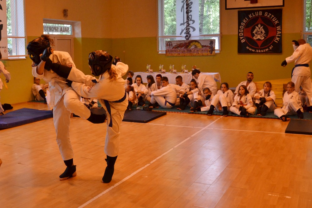 Zdjęcia z: Turniej Kumite BKSzW Karate Kyokushin 2019