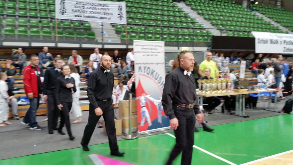 Zdjęcia z: Ogólnopolski Turniej Sztuk Walki w Zielonej Górze