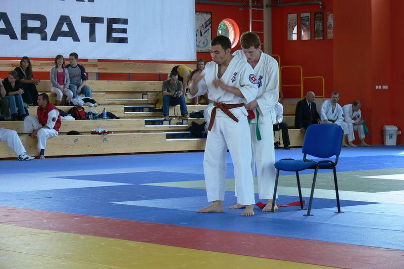 Zdjęcia z: XIII Mistrzostwa Polski Seniorów Polskiej Federacji Karate w knockdown-Wrocław-maj 2008