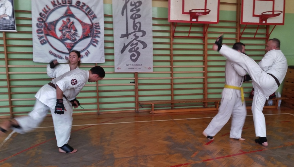 Zdjęcia z: Egzamin Karate Kyokushin w BKSzW 19.05.2018r.