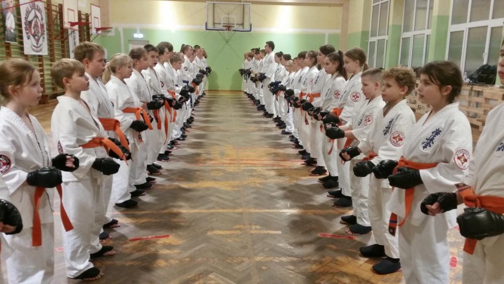 Zdjęcia z: Egzamin Karate Kyokushin w BKSzW