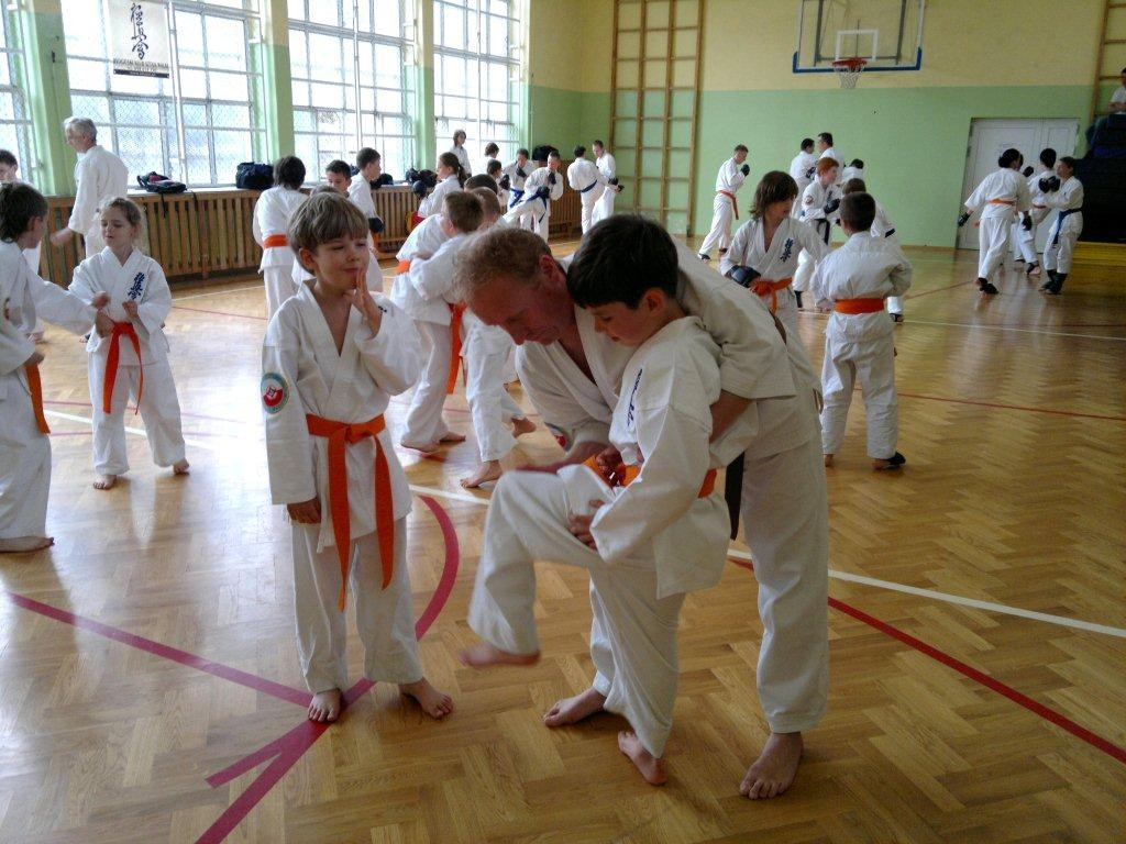 Zdjęcia z: Egzamin karate kyokushin 21.05.2011r