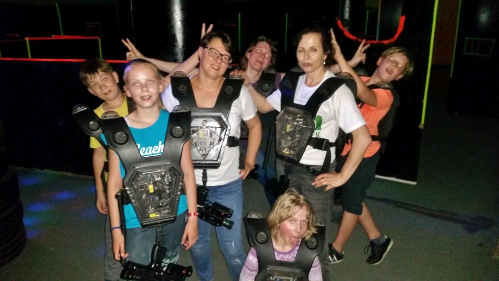 Zdjęcia z: 26.05'18 Laser Fight organizowany przez BKSzW