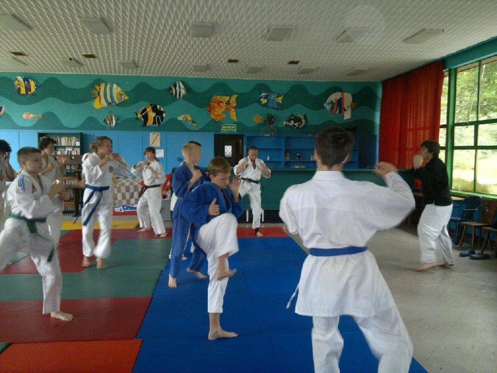 Zdjęcia z: Zgrupowanie Ju Jitsu Kobudo-Tuczno 2011