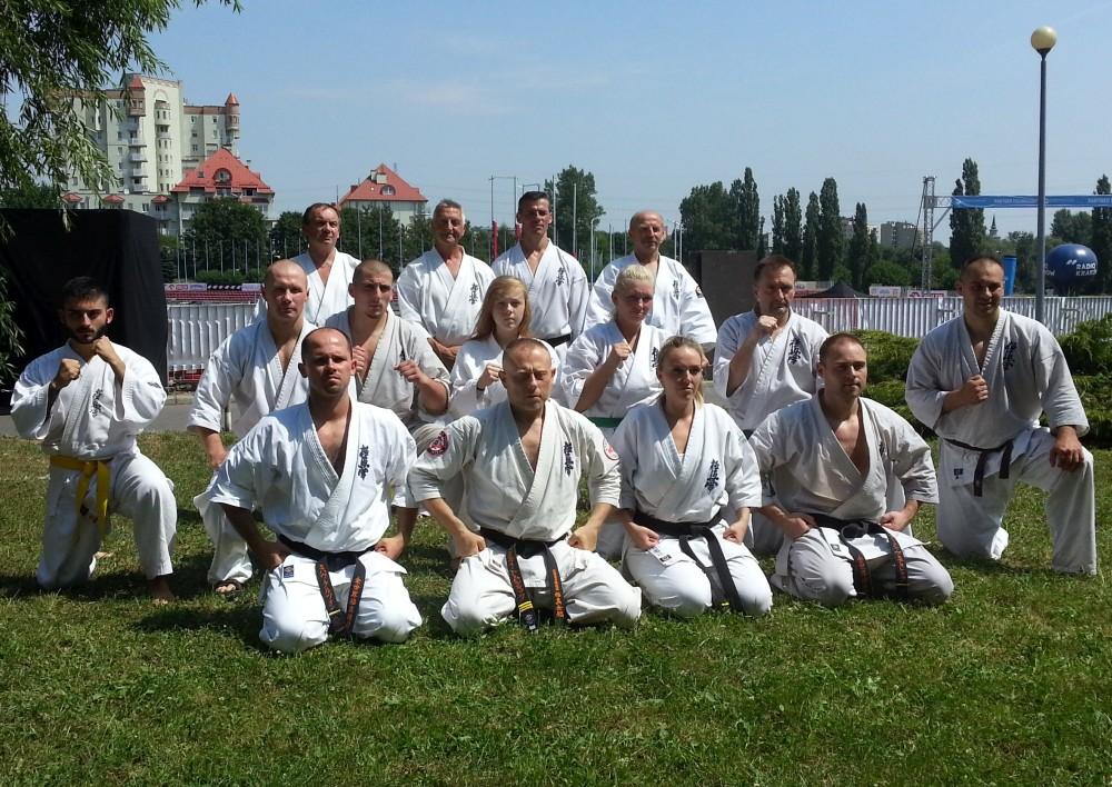 Zdjęcia z: Międzynarodowy Obóz Kyokushin, Kraków lipiec 2015