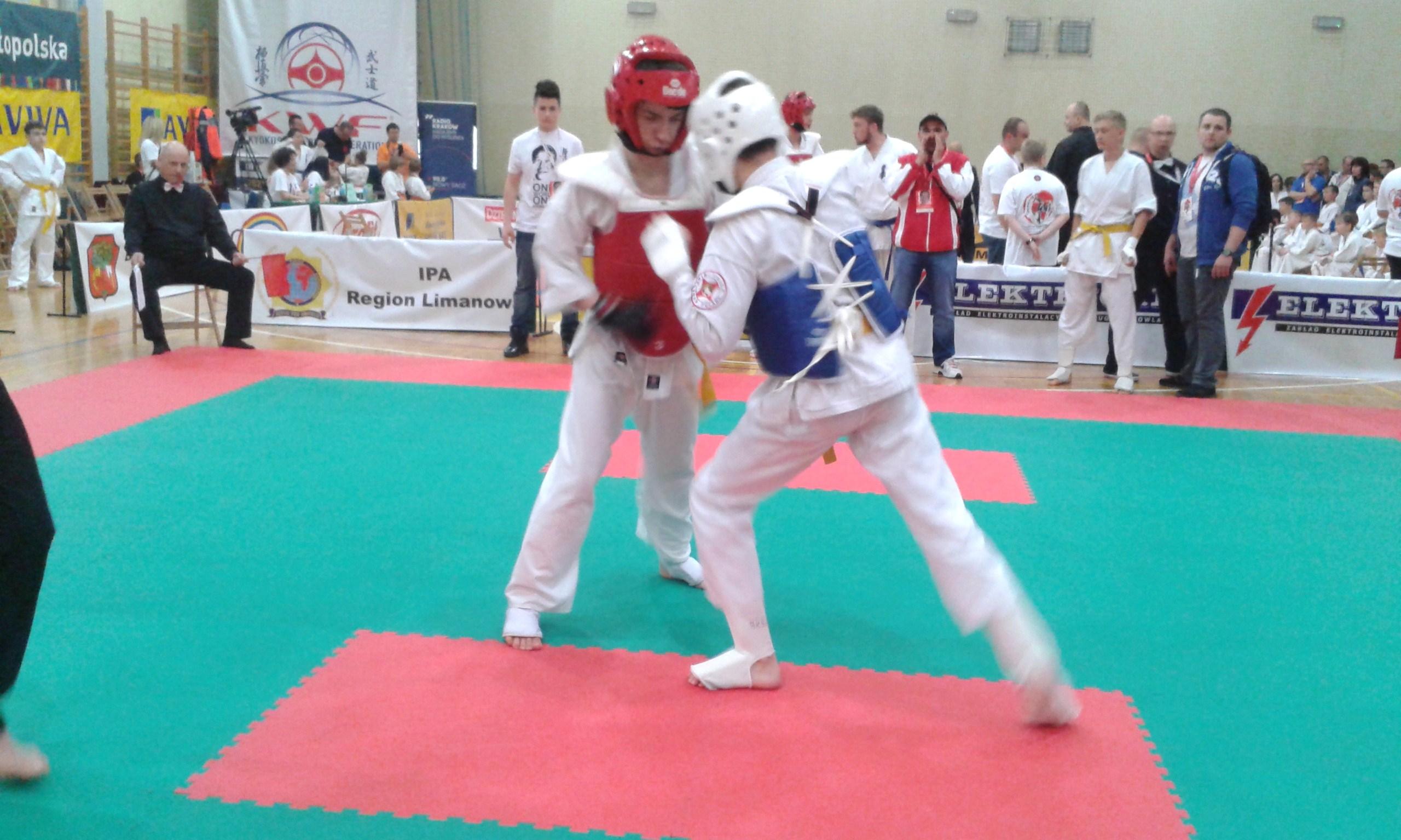 Zdjęcia z: Międzynarodowy Turniej Karate Kyokushin w Limanowej