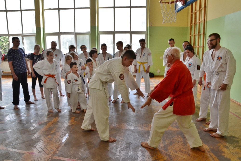 Zdjęcia z: 02.06.2018 Ogólnopolskie Seminarium Ju Jitsu w Bydgoszczy
