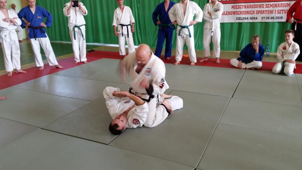 Zdjęcia z: Międzynarodowe Seminarium Ju Jitsu 27.05'16 Zielona Góra