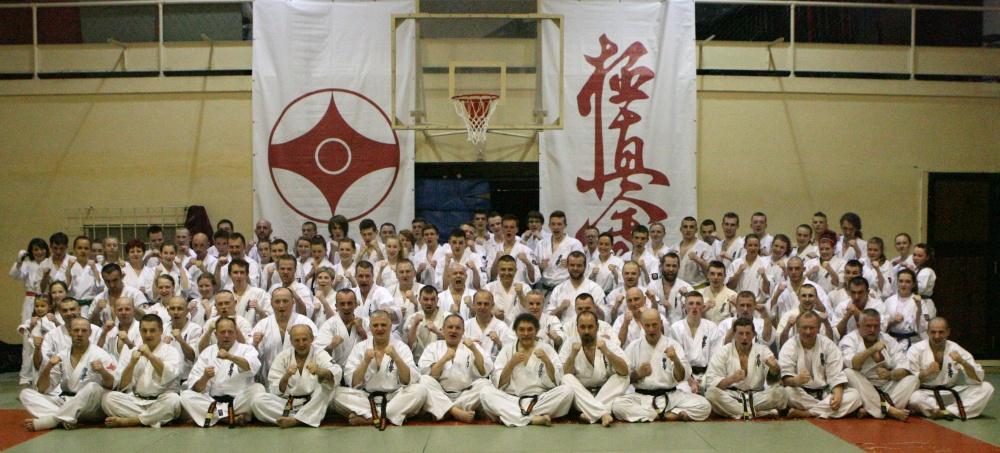 Zdjęcia z: Kwietniowe Seminarium Kyokushin w Krakowie