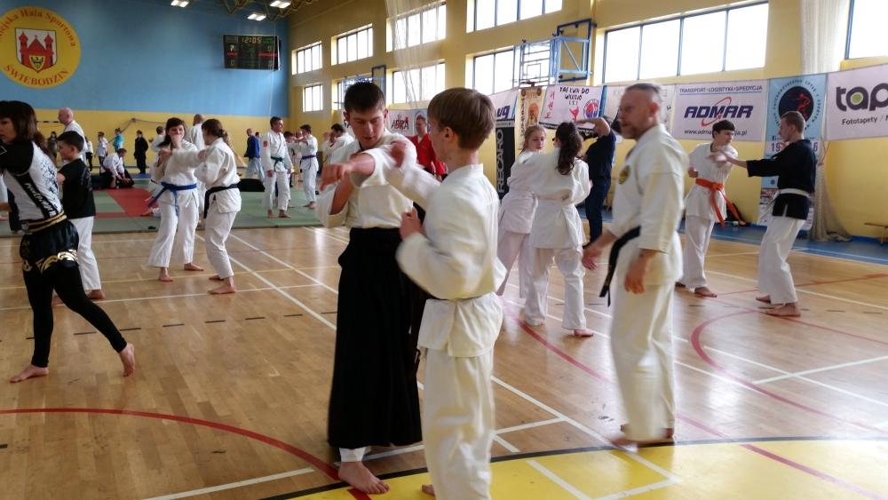 Zdjęcia z: 19.03.2016 Seminarium Sztuk i Sportów Walki w Świebodzinie