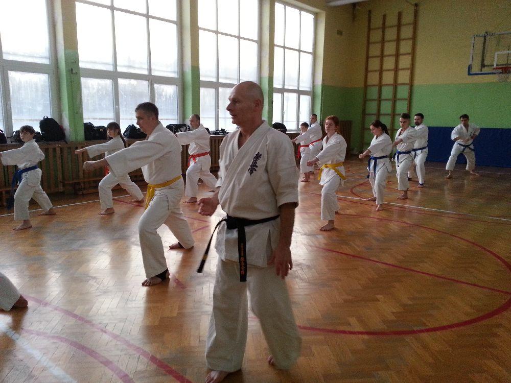Zdjęcia z: 25.02.2014r. Seminarium Kyokushin