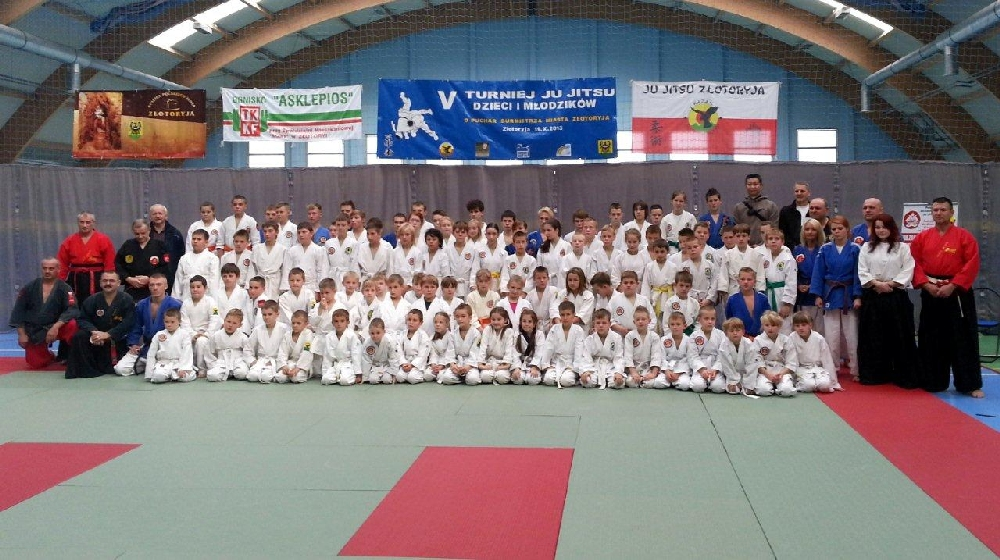 Zdjęcia z: Turniej Ju Jitsu Dzieci i Młodzi ków w Złotoryji 19.10.2013r