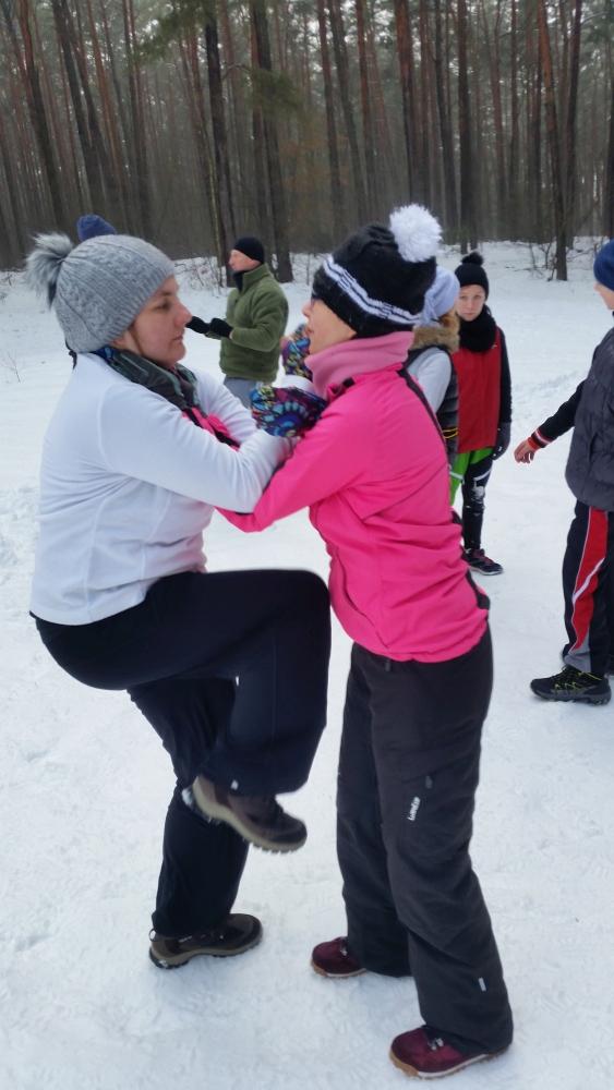 Zdjęcia z: 20 stycznia 2018r. Zimowy trening w plenerze
