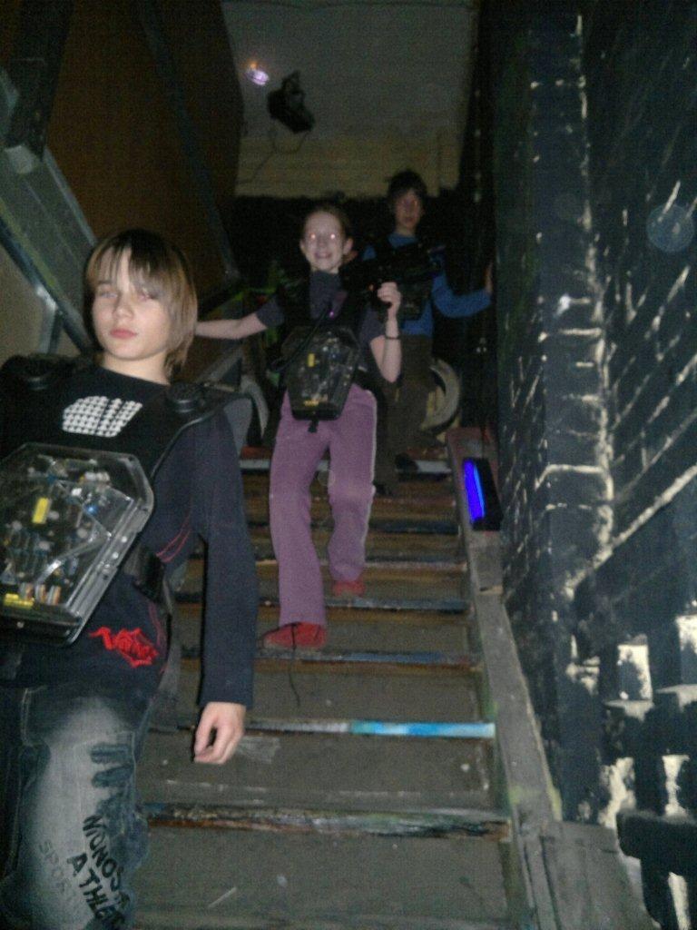 Zdjęcia z: Laserfight organizowany przez BKSzW XII.2011r.