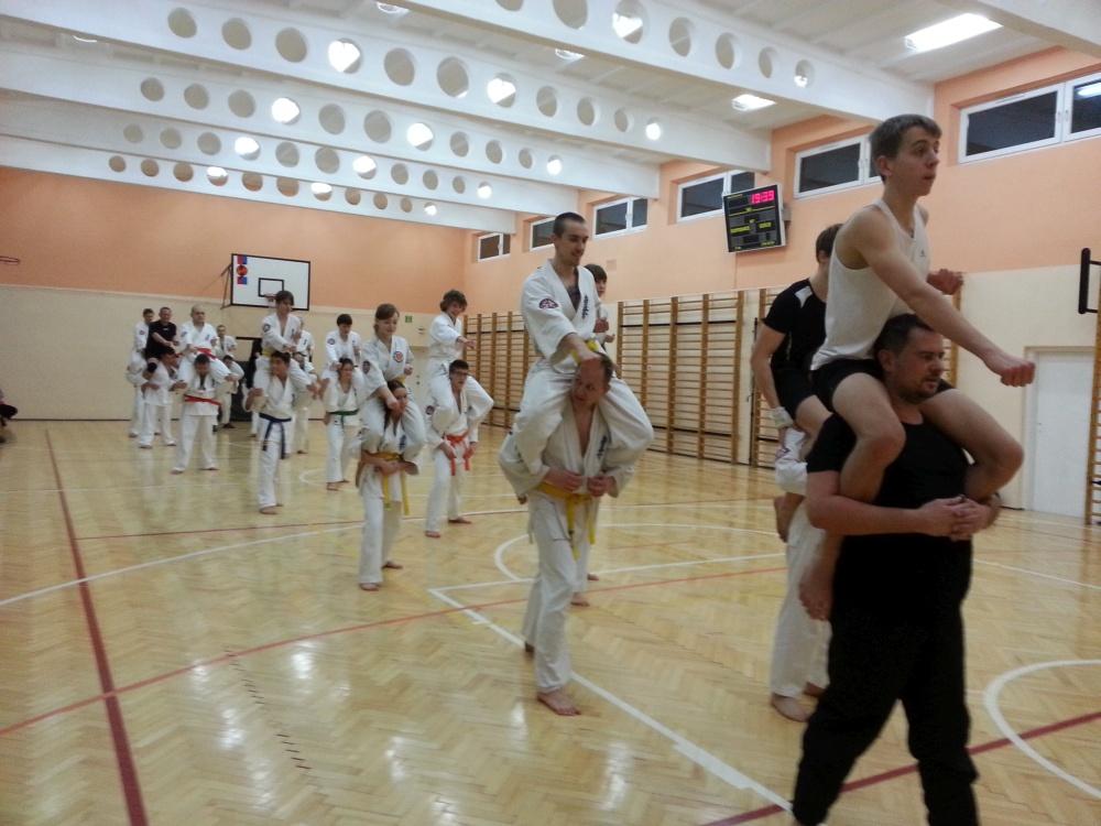 Zdjęcia z: Ostatni trening roku i wigilia BKSzW