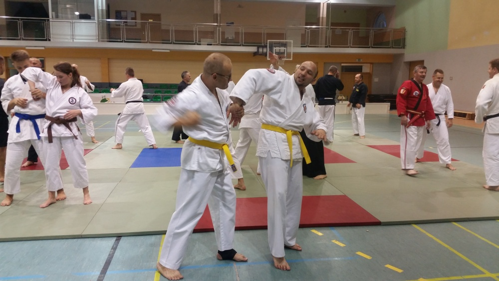 Zdjęcia z: Seminarium Ju Jitsu w Słupsku