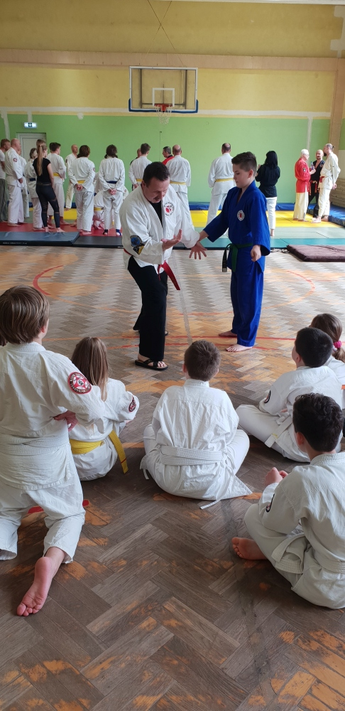 Zdjęcia z: Ogólnopolskie Seminarium Ju Jitsu w Bydgoszczy 13.04.2019